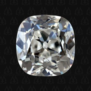 1.37 carat G VS2 color & clarity: antique cushion cut diamond